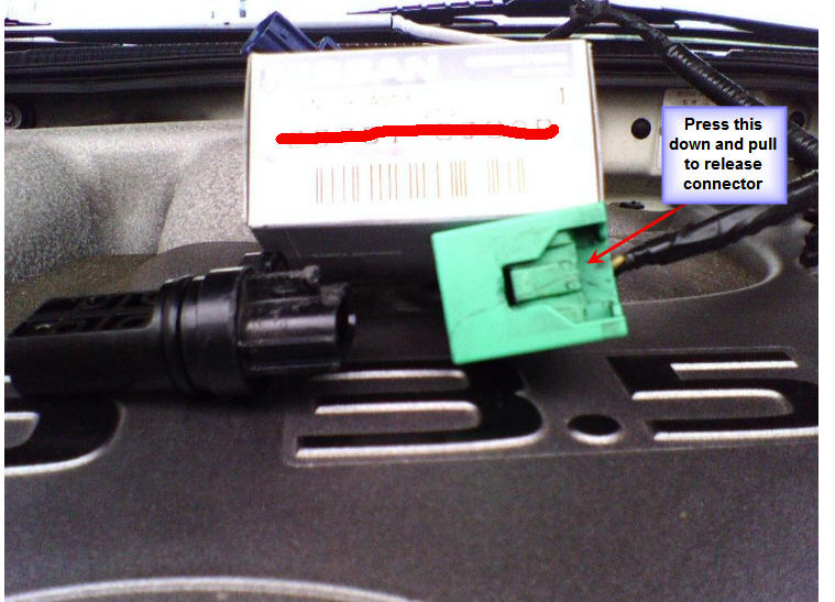 Crank Sensor Connector on Nissan Altima Crank Position Sensor