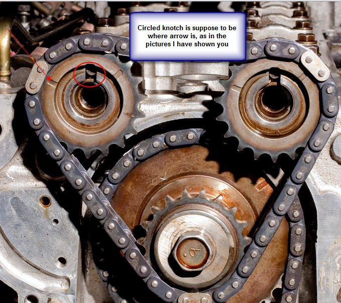 Altima Cam Timing Chain on 2001 Nissan Altima Timing Marks