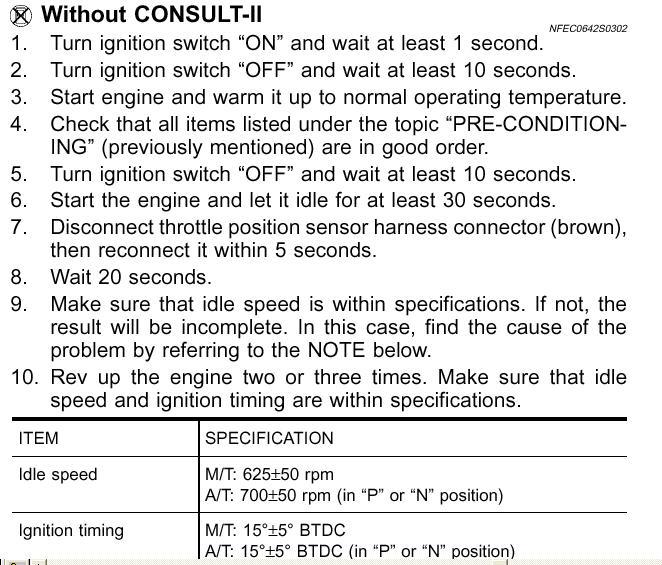 20001 nissan maxima se code p0505 i replace iac valve, clean