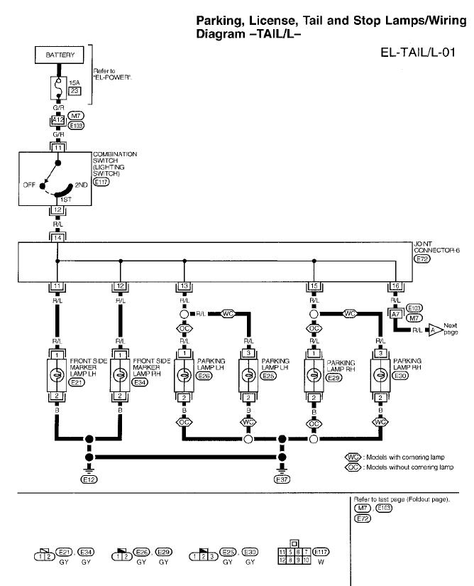 Wiring Diagram For 2010 Nissan Altima : Have a nissan altima the brake tail lights stay on all