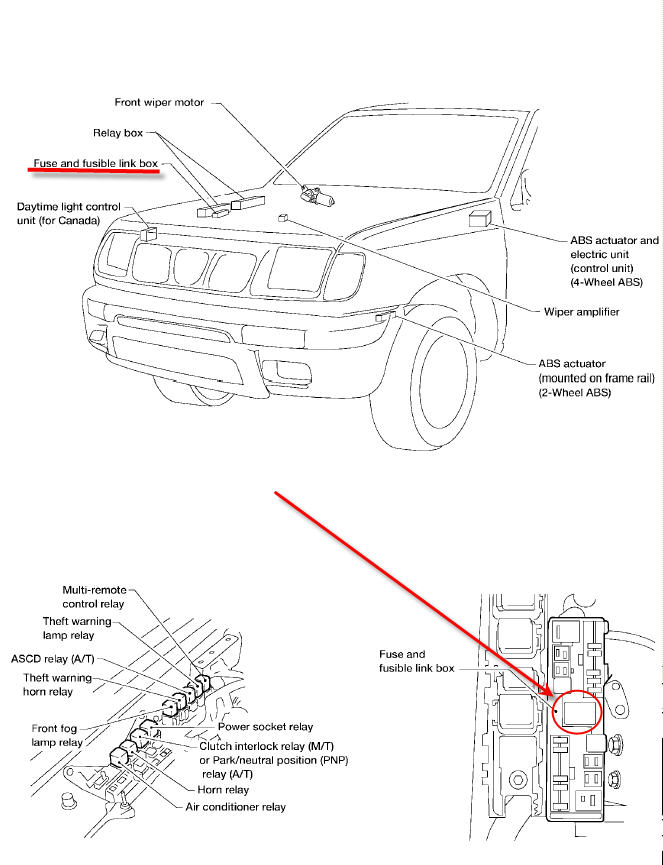 2009 07 08_011809_2000_Frontier_Fusible_link_loc nissan frontier fuse box nissan wiring diagrams collection  at soozxer.org