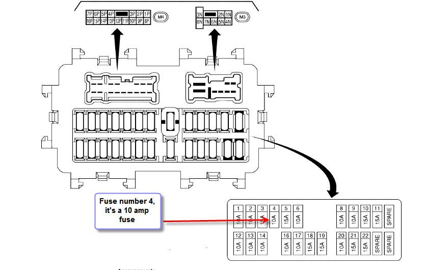 re cooling fan running  stev73  turns out the problem 2011 nissan titan fuse box diagram
