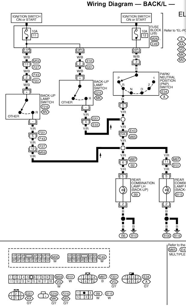 2002 Nissan Trail Wiring Diagram : Nissan xterra wiring diagram light