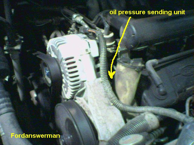 Trying To Replace Oil Pressure Switchsending Unit 92 Lincoln Rhjustanswer: 2001 Ford Windstar Oil Pump Location At Gmaili.net