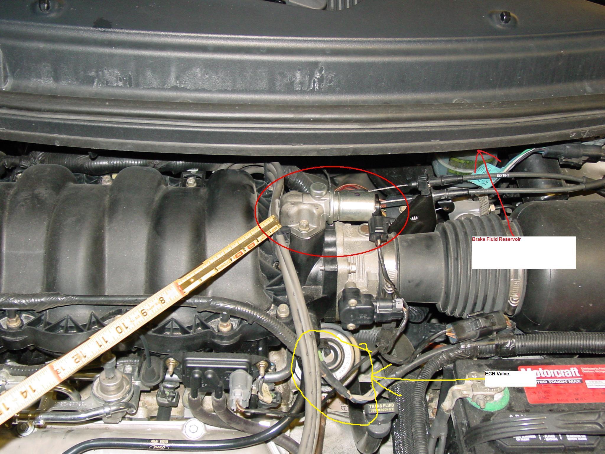 2001 Windstar 30 Engine 70k Mi Car Bucks At 45 Mph It Is Not 01 Wiring Diagram Graphic