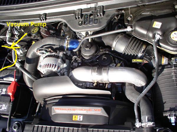 I have a 2004 Ford F350. No matter what setting I put the ...