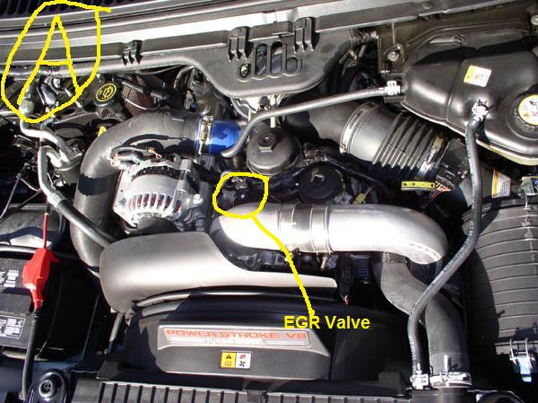 Error Code Po238 How Do I Fixrhjustanswer: Ford 6 0 Egr Valve Location At Gmaili.net