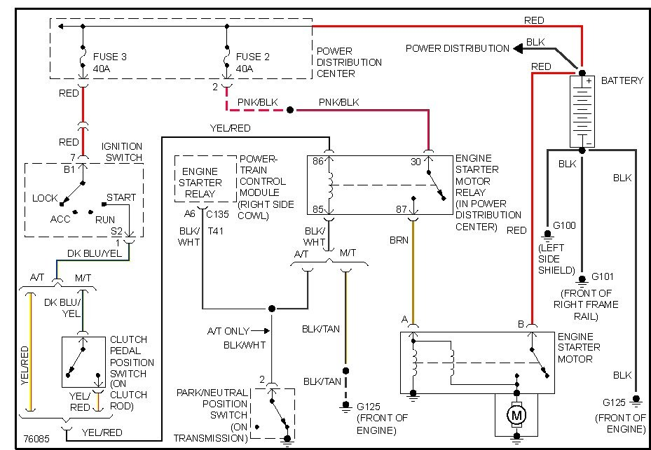 Starting Circuit Dode Ram on Dodge Ram 1500 Ignition Switch