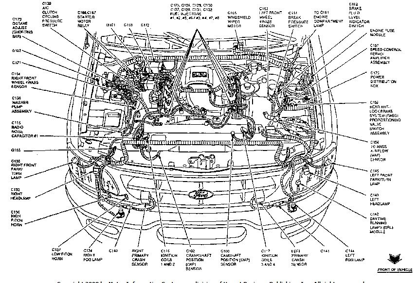 ford f350 electrical wiring diagram ford f350 engine