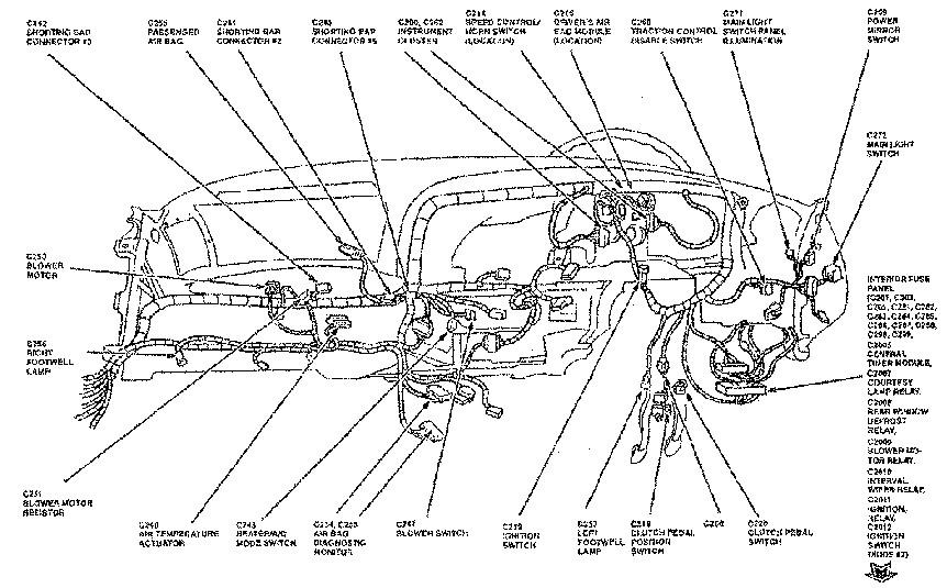 1999 ford contour fuse box location custom wiring diagram u2022 rh littlewaves co  1999 ford contour fuse box diagram