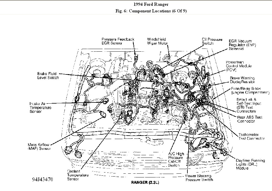 ford ranger 1994 xlt 4 cylinder 2.3l changed camshaft ... fuse diagram 96 ford ranger 2 3l engine #13