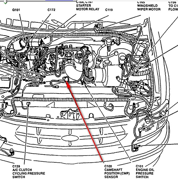 electrical wiring diagram 2000 ford f 150 1997 ford crown