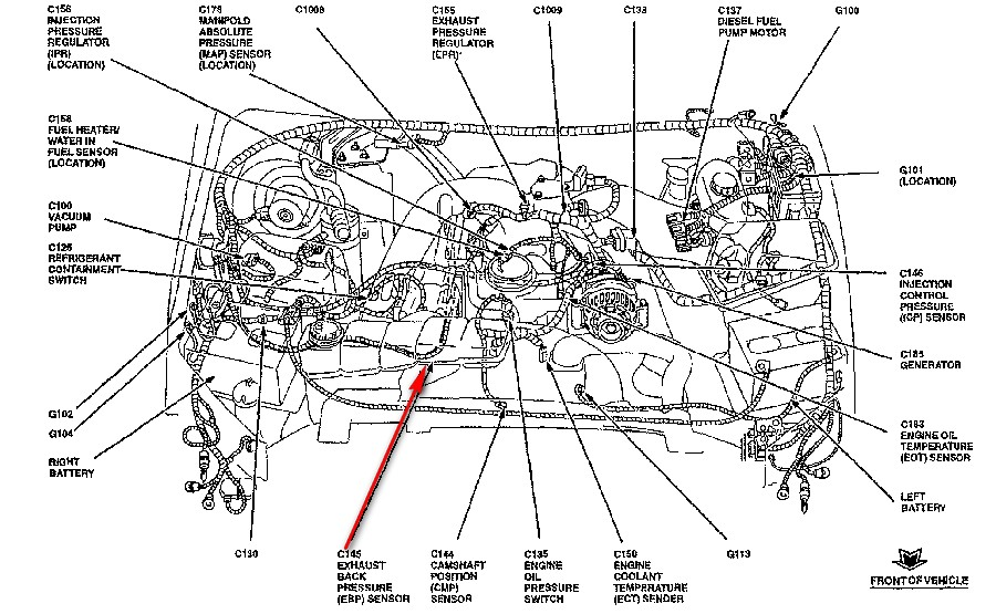 7 3 ford diesel oil system diagrams 2000 f550 trouble code p0476 with    7       3    eng low on power  2000 f550 trouble code p0476 with    7       3    eng low on power