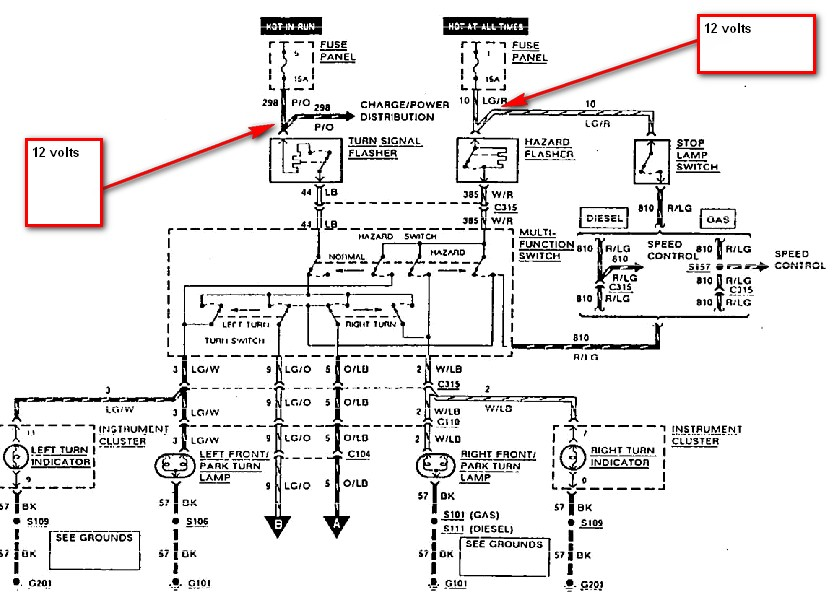 fender 4 way switch wiring diagram my 4-way flashers do not work but the blinkers work ok