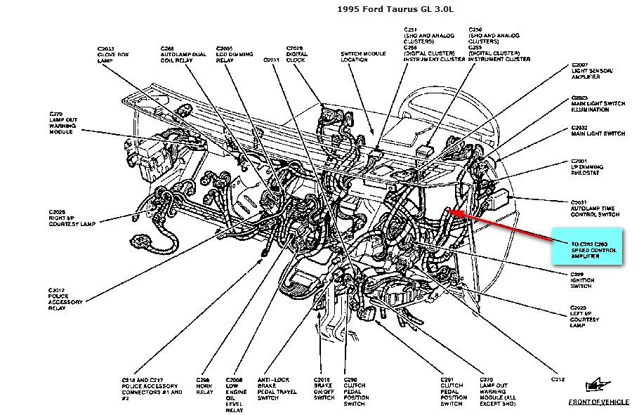 i have a  u0026 39 95 ford taurus gl sedan  the cruise control works intermittently  originally the