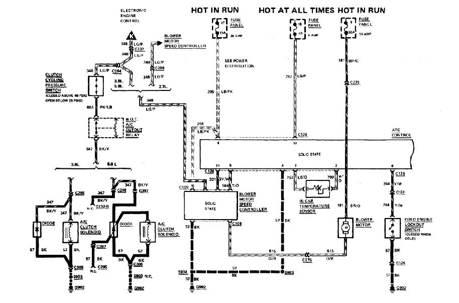 I Need A Wiring Diagram For The Climate Control Unit In A