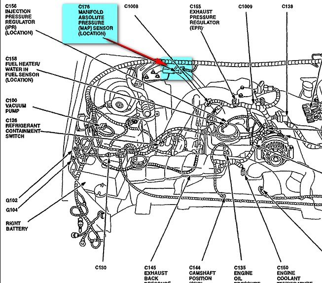 6 0 powerstroke diesel engine diagram