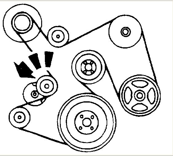 Looking For Looping Pattern For Serpentine Belt Ford V10 5 8 Liter