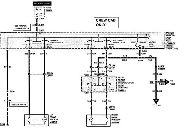 Looking For A Schematic For A 1996 Ford F350 Crew Cab For