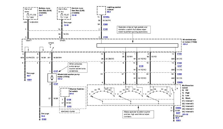 2009 ford crown victoria fuse diagram 93 ford crown victoria fuse diagram #12