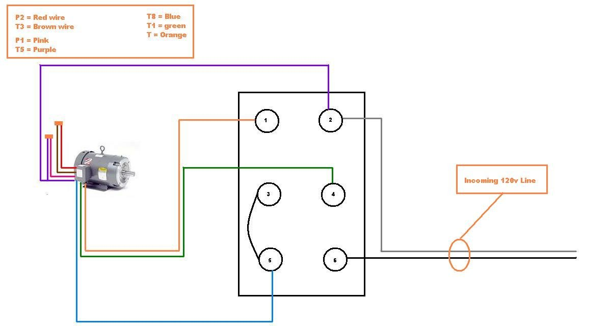 i am trying to connect a leeson model c6c17db2h 1 ... 2 switch wiring diagram on motor light switch wiring diagram on vn800 turn signal