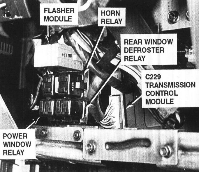 My Power Windows Don U0026 39 T Work  Is It An Ac Relay Or Resistor