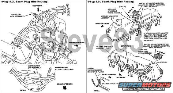 i have a mercruiser, ford 302, 188 hp, carbureted, year 1076 i need chevy small block plug wire diagram ford 302 plug wire diagram #36
