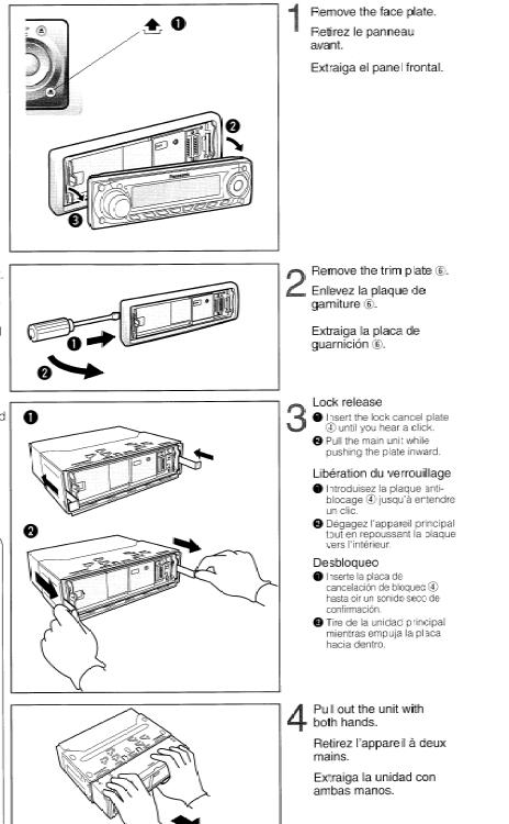 Wiring Diagram Panasonic Car Radio : Wiring diagram panasonic cq c u car radio
