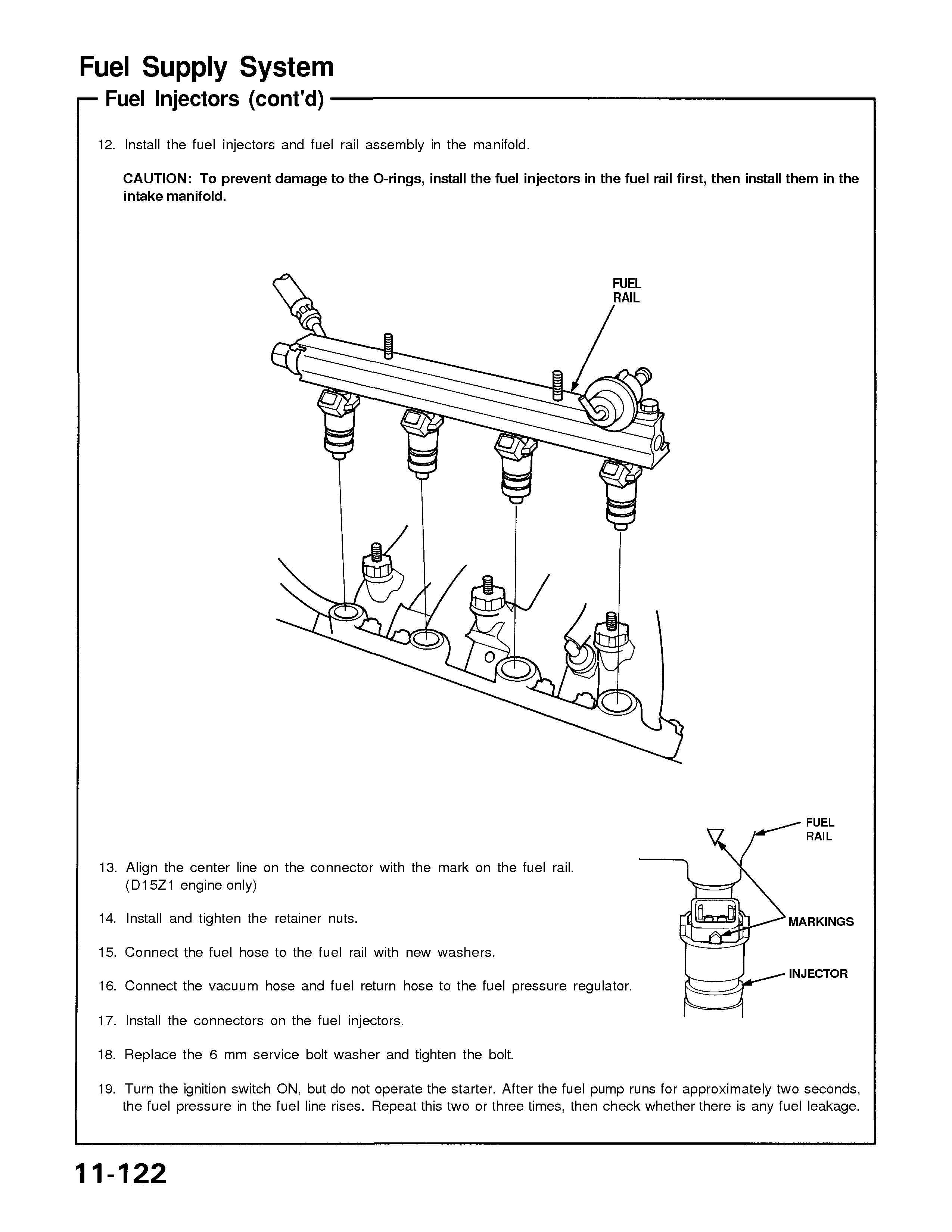 How Easy Is It To Replace Fuel Injectors On A 1993 Honda Civic Any Injector Diagram Graphic