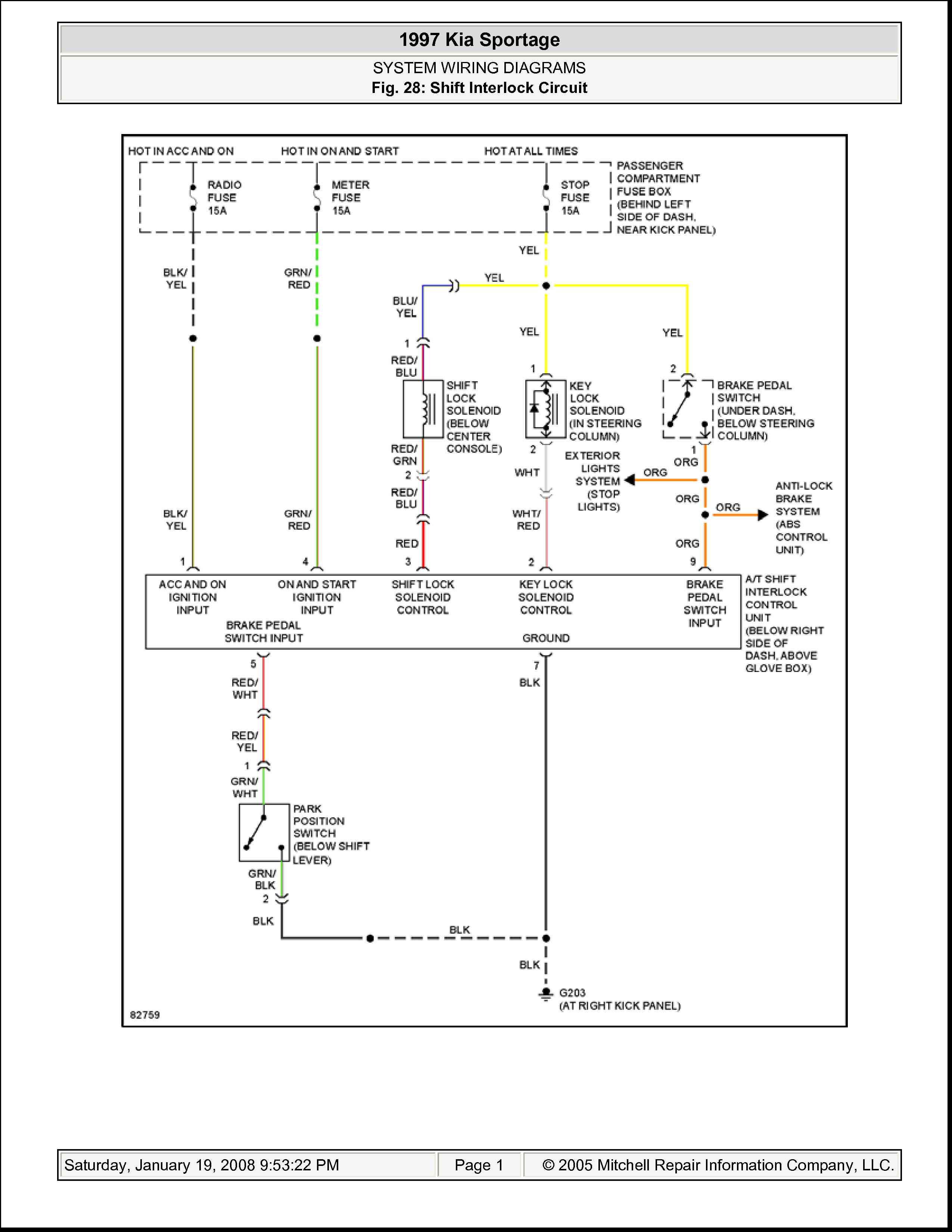 1997 Kia Sportage Wiring Diagram Modern Design Of Radio 97 Library Rh 50 Kandelhof Restaurant De Electrical