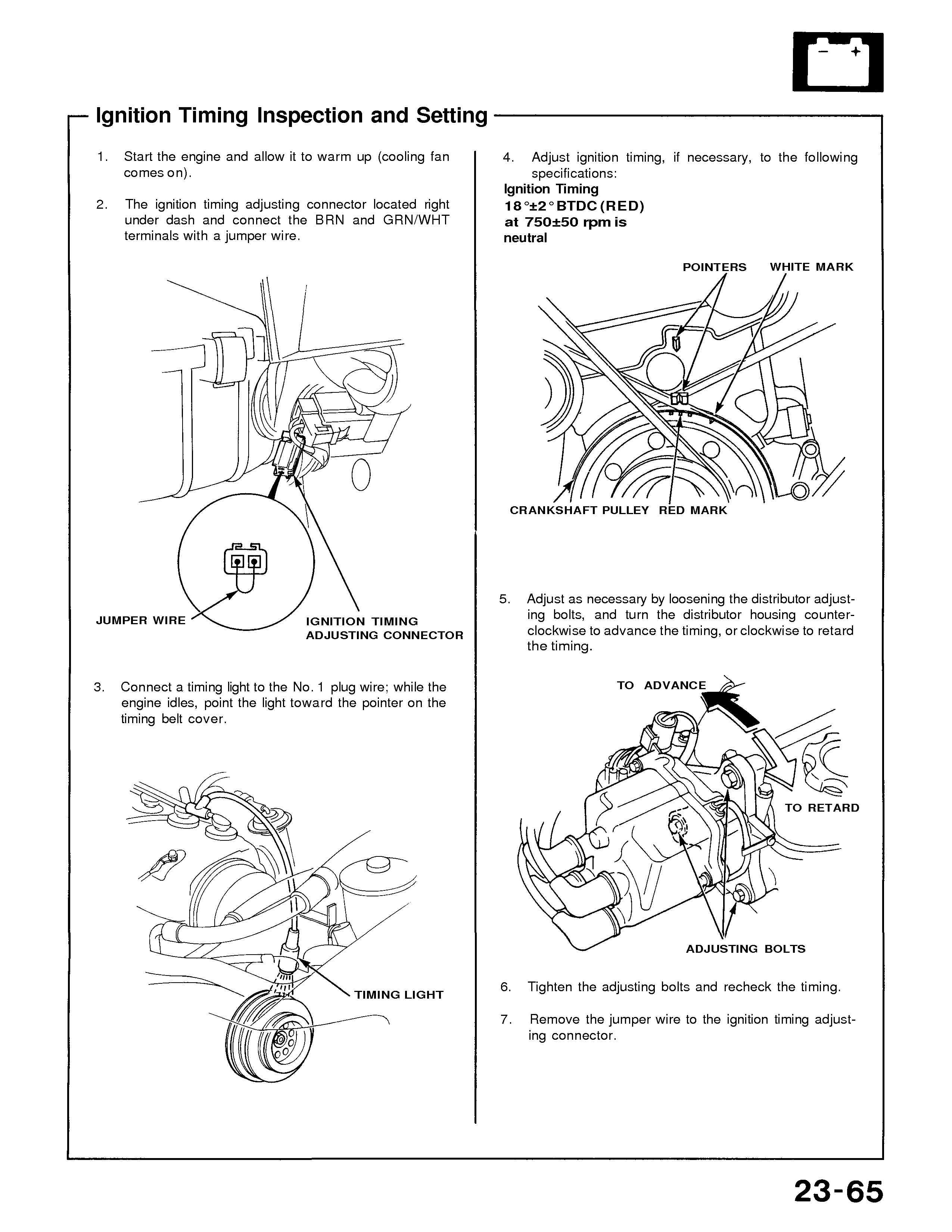 1990 Honda Civic Was Running Fine While Driving It Quit Triedd To Crx Timing Belt Engine Mechanical Problem Graphic