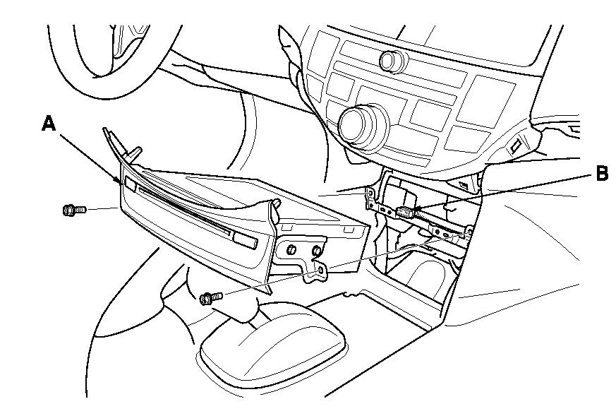 How Do You Remove The Radio From A 08 Accord Exl 4 Door With Nav: 2012 Honda Civic Si L4 2.4l Wiring Diagram For Outshaft Connector At Bitobe.net
