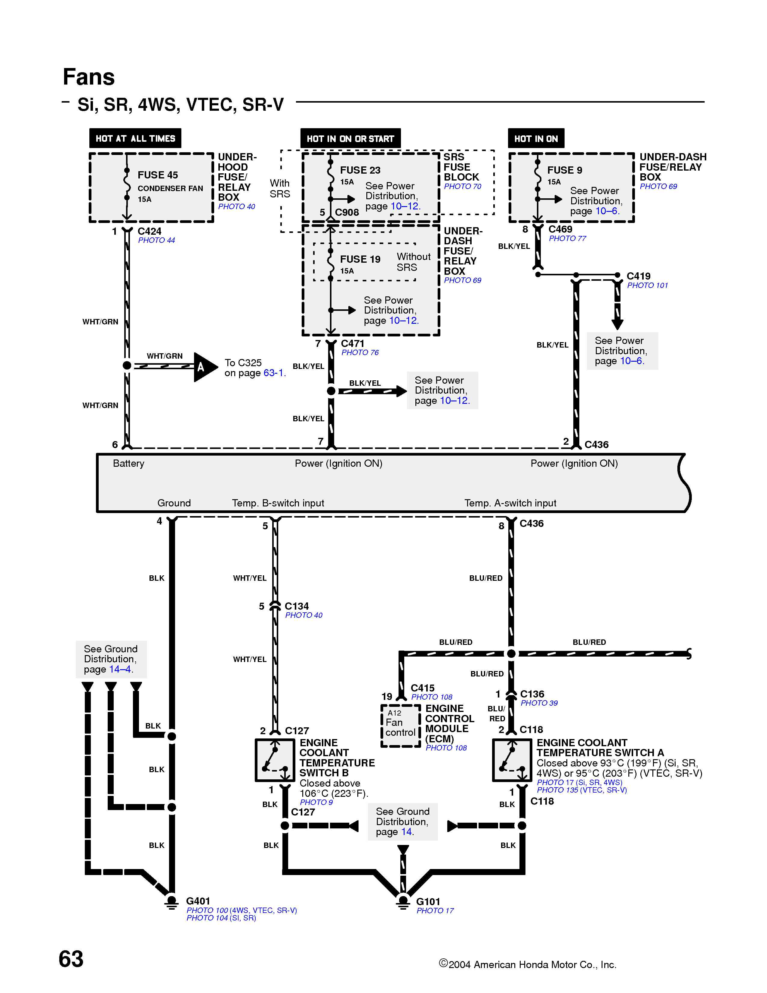 1995 Civic Fuse Diagram Schematic Diagrams F350 Box Honda Alternator Wiring Trusted