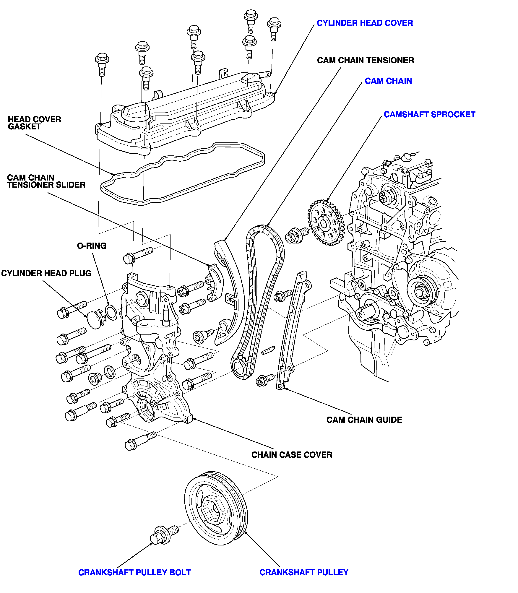 2012 ford fusion 2 5l belt diagram