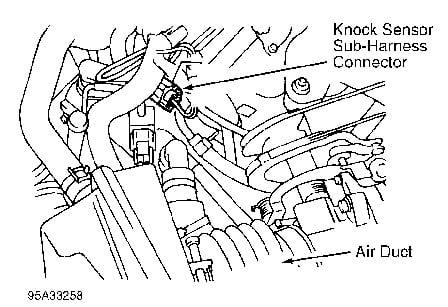 1999 Nissan Maxima Knock Sensor Diagram
