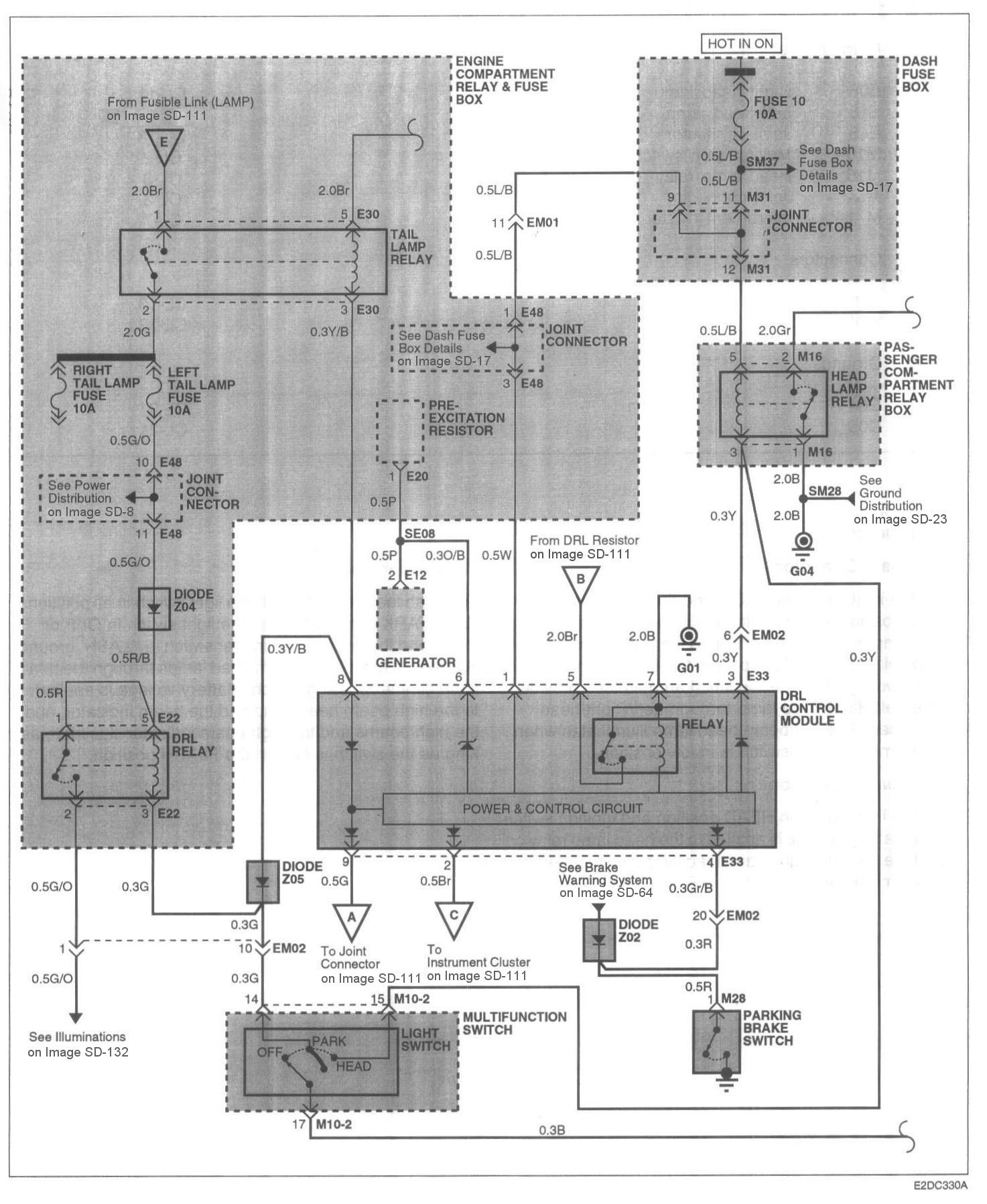 Hyundai Excel Wiring Diagram 1998 Landor Accent 2000 Sedan Free I Have A 2002 Just Recently The Battery Was Going