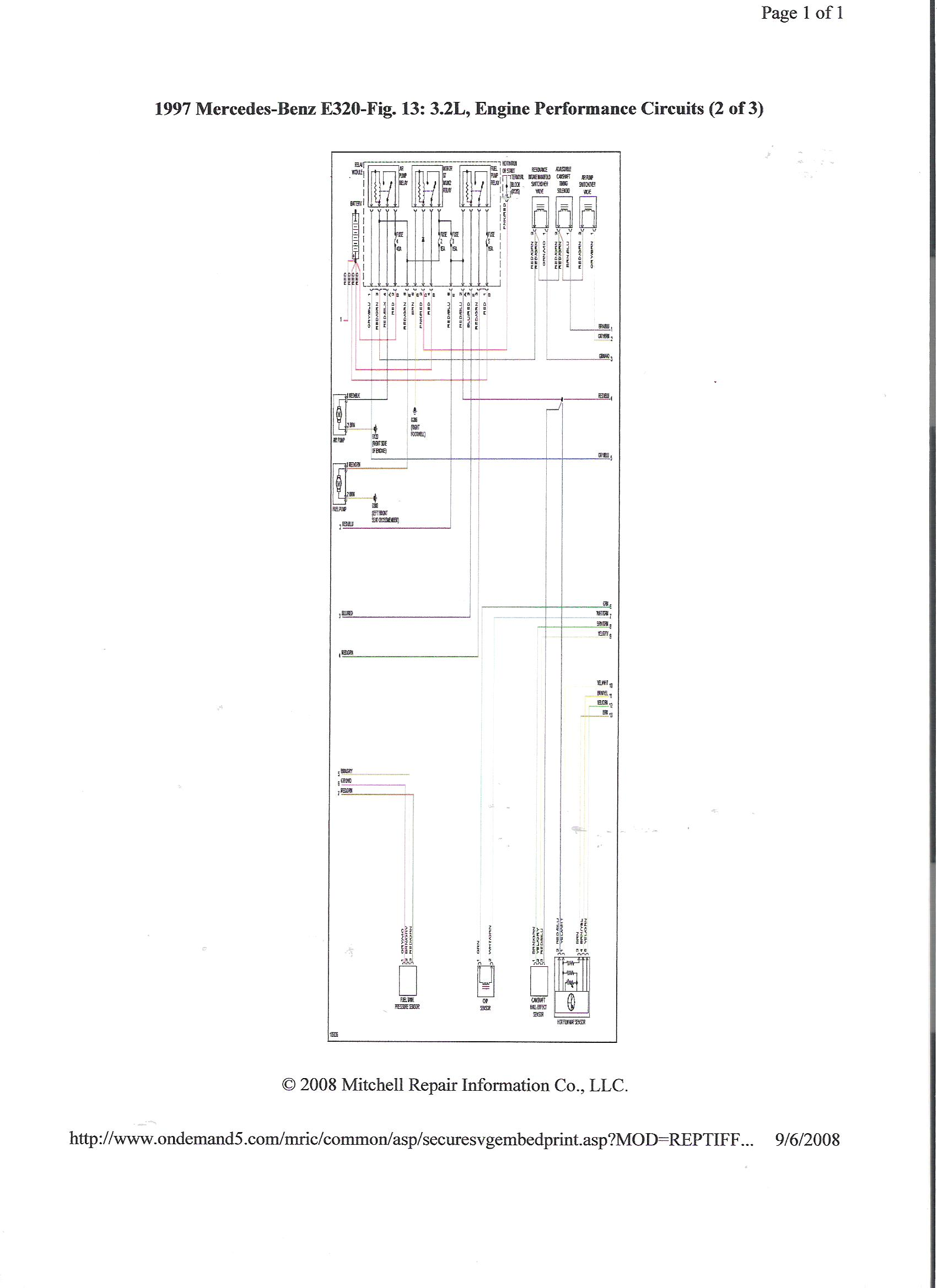 97 mercedes e 420 wiring diagram