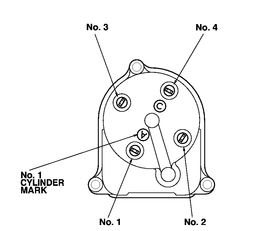 2000 Honda Accord Distributor Wiring