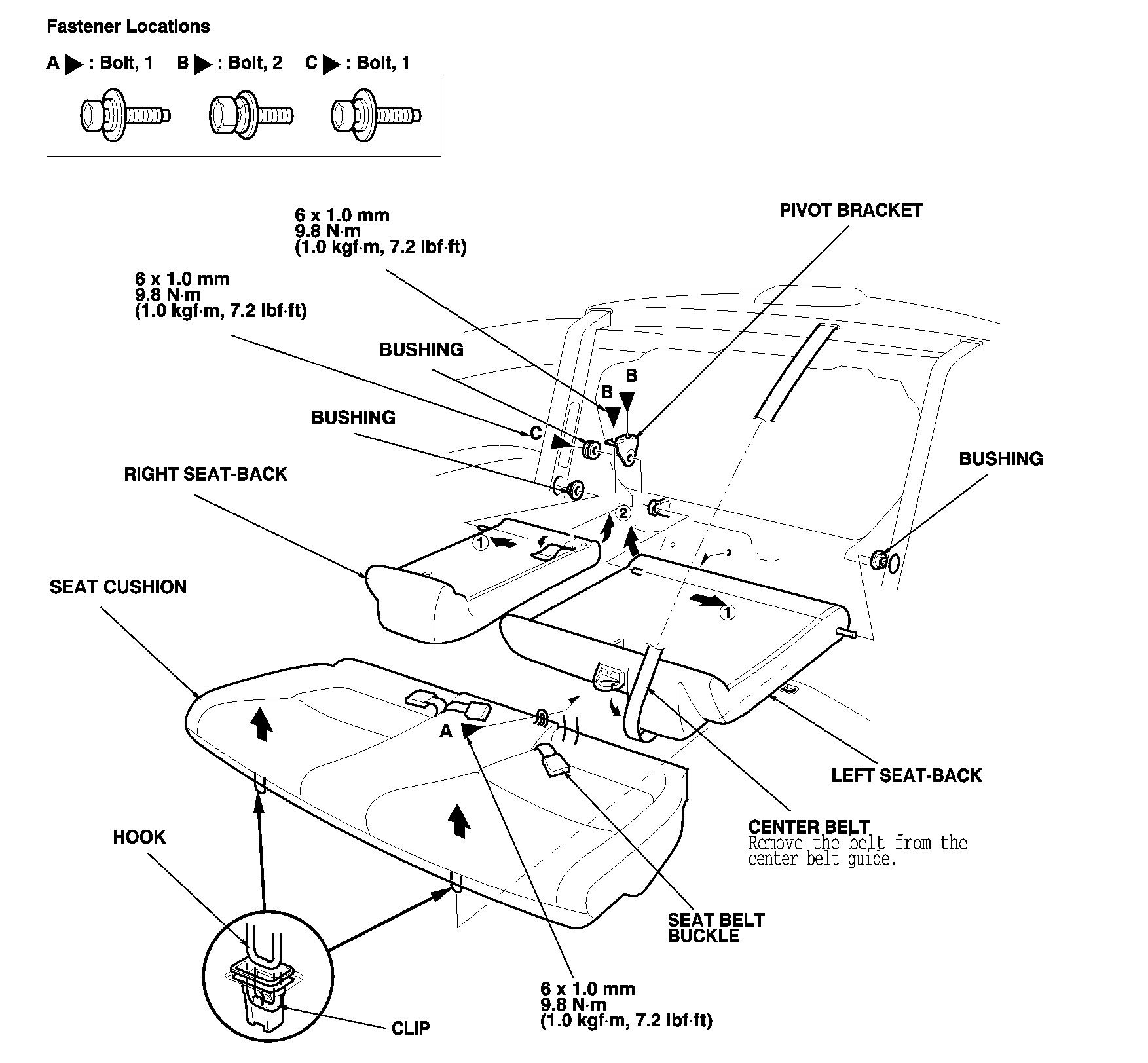 2001 CIVIC - Fuel Pump/Fuel Gauge Sending Unit Replacement