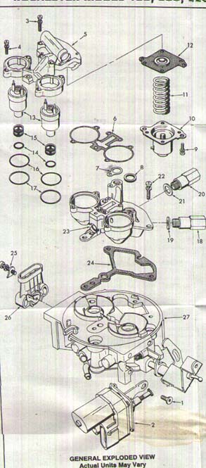 Where Can I Find A Diagram To Rebuild A 1987 Throttle Body Injection