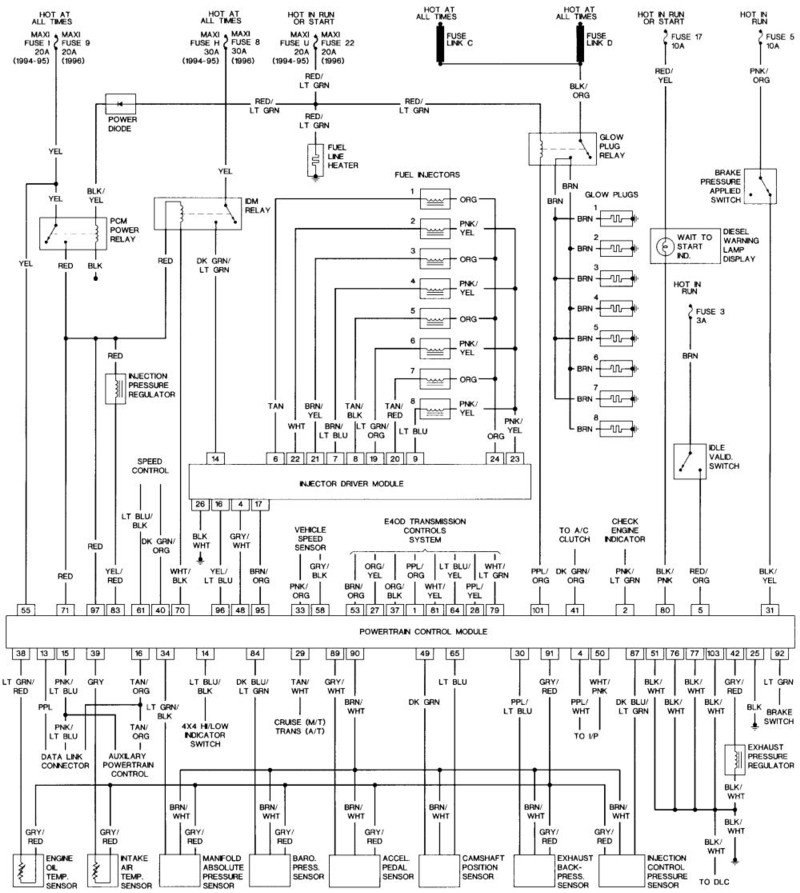 Ford 6 0l Power Stroke Engine Wiring Diagram Fuse Box