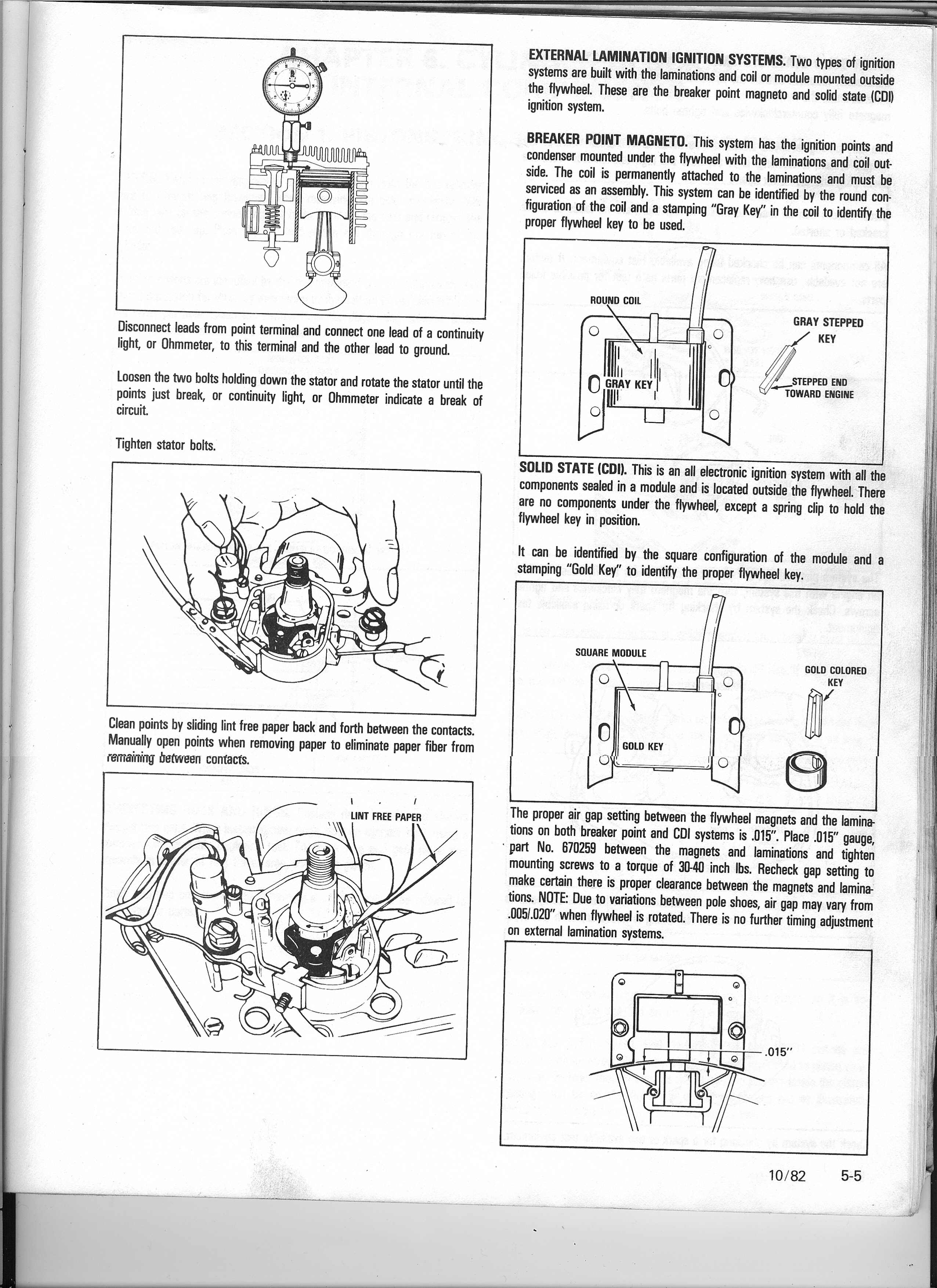 I Have An Old Tecumseh Motor That Was On A Paint Sprayer Type Honda Small Engine Points Ignition Coils Flywheel Diagram And Parts Graphic