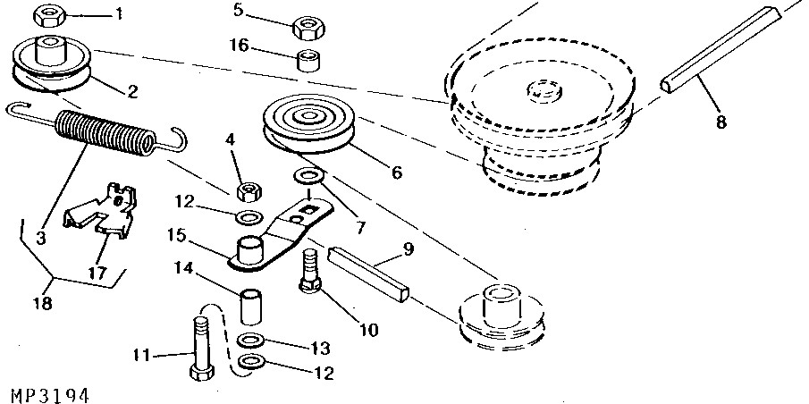 I Need A Mower Belt Diagram For A Deere Model 316  Can You Help