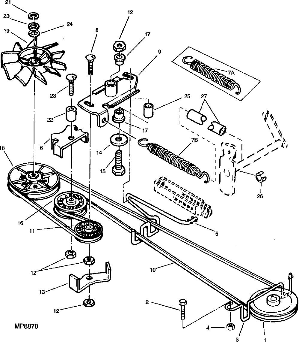 Mower Belts moreover Viewit also 6083069dda13223d John Deere Mower Deck Belt Diagram John Deere 46 Mower Deck additionally 2h4v5 Replace Main Drive Belt John Deere Lx173 Riding also John Deere 2010 Parts Diagram. on john deere d130 wiring diagram