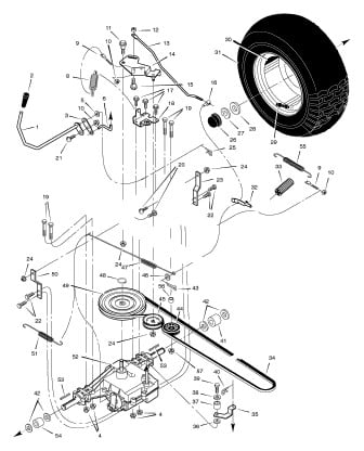 wiring diagram for troy bilt lawn mower with Wiring Diagram For A Craftsman Riding Mower on Deck Belt Diagram Troy Bilt 42 Inch moreover Troy Bilt Bronco Belt Diagram besides Wiring Diagram For A Craftsman Riding Mower likewise Wiring Diagram Murray Riding Lawn Mower moreover Tecumseh 35 Hp Carburetor Diagram.