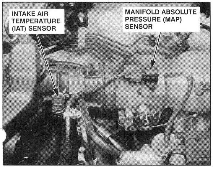 on 2000 Honda Accord Temperature Sensor