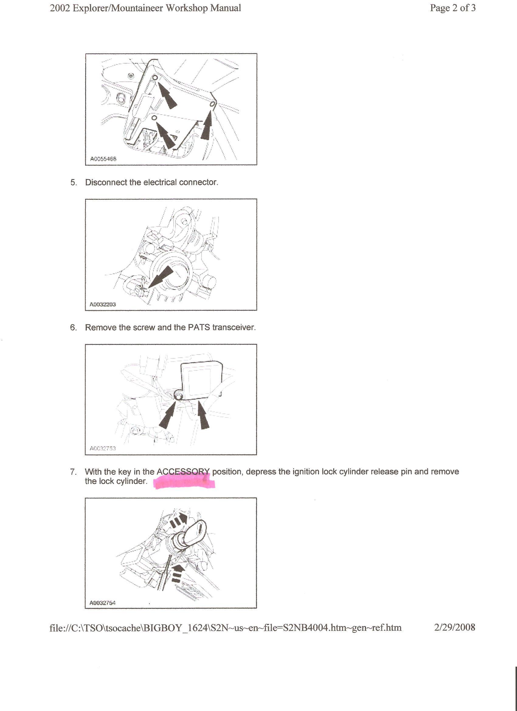 ford ranger haynes repair manual