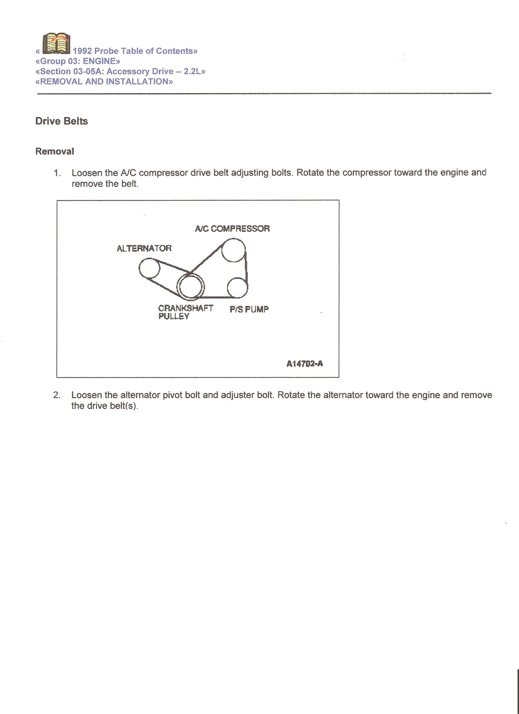 Ford Probe Alternator Wiring Electrical Diagrams Delco Diagram 2003 1989 Product U2022 Ranger