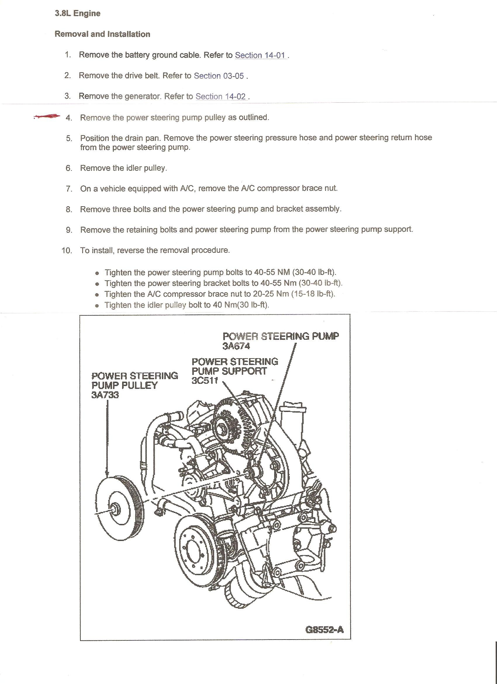 I U0026 39 M Trying To Remove Power Steering Pump On My 1996 Ford