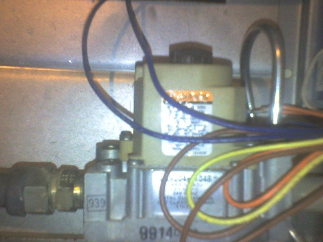 Servicing A Gas Burner Primary Control Heater Service